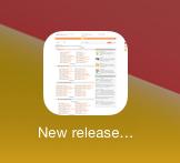 Addic7ed's icon with iOS best effort
