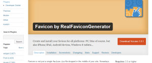 RealFaviconGenerator WordPress plugin is available!