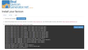Faviconin HTML, XHTML or Jade