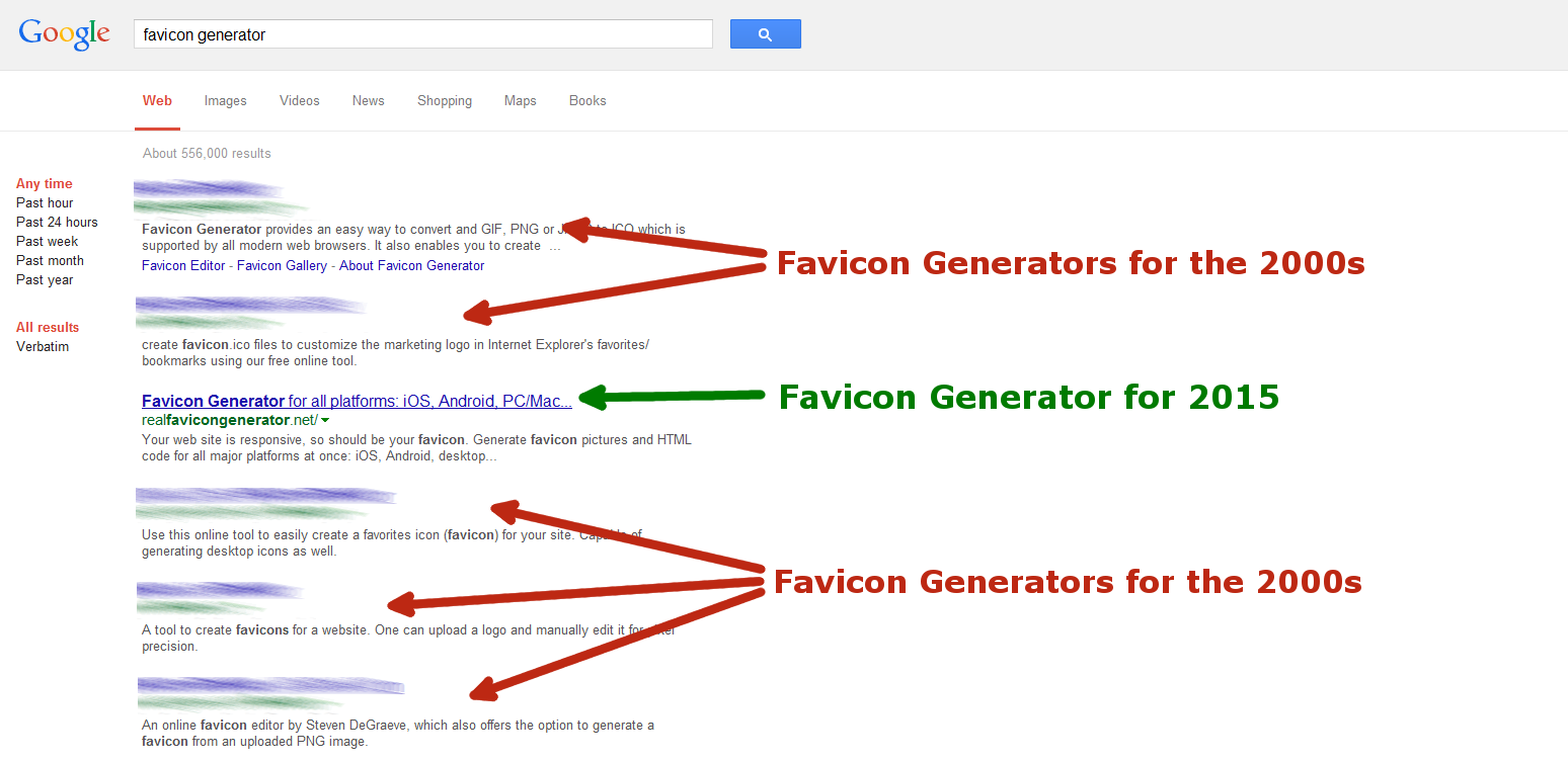 Favicon - Why you're doing it wrong - Favicon's blog