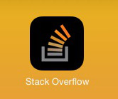 The Touch Icon of StackOverflow has its transparent background set to black by iOS. Was it intended?