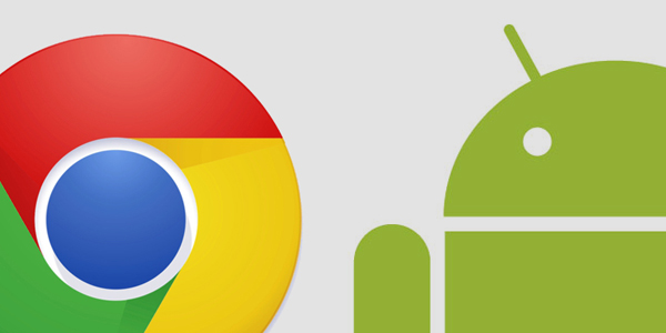 How Android Chrome scales down icons