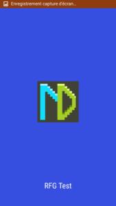 Pixel art icon splashscreen