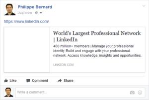 LinkedIn - No Facebook Open Graph image