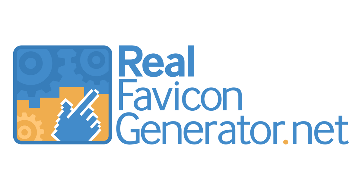 Favicon Generator for all platforms: iOS, Android, PC/Mac