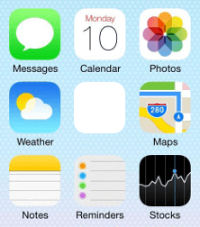 ios home screen
